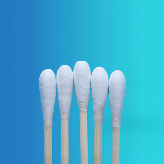 Medical cotton swabs